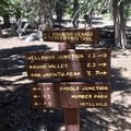 Trail junction.- Pacific Crest Trail: California Section B