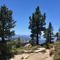 Fantastic views as you near the summit of San Jacinto.- Pacific Crest Trail: California Section B
