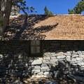 San Jacinto Peak shelter.- Pacific Crest Trail: California Section B