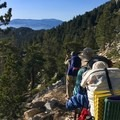 Hikers waiting to take that perfect photo!- Pacific Crest Trail: California Section B