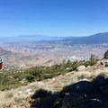 Looking toward Interstate 10 and Cabazon.- Pacific Crest Trail: California Section B