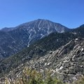 Looking back at San Jacinto Peak.- Pacific Crest Trail: California Section B