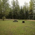 Day use area and park.- Tetsa River Campground