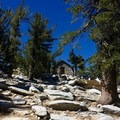 The charming San Jacinto Peak shelter.- Pacific Crest Trail: California Section B