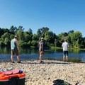 Judson Rocks.- Willamette River: Riverview Park to Bryant Park via Rogue Farms