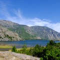 East Rosebud Lake.- The Beaten Path