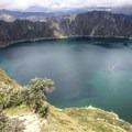 Quilotoa Lake.- Quilotoa Loop Trek
