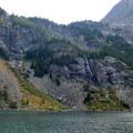 Lake at Falls.- The Beaten Path