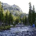 Fishing East Rosebud Creek.- The Beaten Path