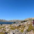 At last, Fossil Lake on the Beaten Path.- The Beaten Path