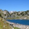 Skull Lake from the Beaten Path. - The Beaten Path