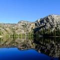 Russell Lake along the Beaten Path.- The Beaten Path