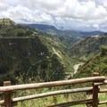 View between Isinlivi and Chugchílan.- Quilotoa Loop Trek