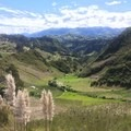 One of the many views like this along the trail.- Quilotoa Loop Trek