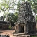 Small temple at Ta Prohm.- Ta Prohm Temple