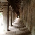 Corridor within Ta Prohm.- Ta Prohm Temple