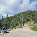 Parking area for Bohemia Saddle and Bohemia Mountain Trail. - Bohemia Mountain Trail