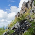 View from the Bohemia Mountain Trail in the Umpqua National Forest.- Bohemia Mountain Trail