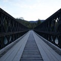 Toad River bridge crossing. - Nonda Radio Tower Viewpoint