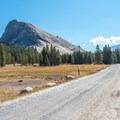The trail begins at Lembert Dome.- Tuolumne Meadows to Glen Aulin High Sierra Camp