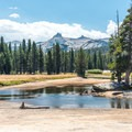 The Tuolumne River.- Tuolumne Meadows to Glen Aulin High Sierra Camp