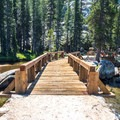 There are two footbridges along the way to Glen Aulin.- Tuolumne Meadows to Glen Aulin High Sierra Camp
