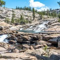There are numerous waterfalls on the way to Glen Aulin.- Tuolumne Meadows to Glen Aulin High Sierra Camp