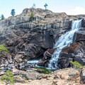 Another view of Tuolumne Falls.- Tuolumne Meadows to Glen Aulin High Sierra Camp