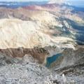 Looking down on Capitol Lake.- Capitol Peak