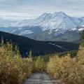 Looking back toward Alaska Highway.- Nonda Radio Tower Viewpoint