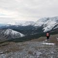 Alpine hiking.- Nonda Radio Tower Viewpoint