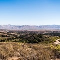 Several of the trails wind to the top! You could spend hours looping through the trails and never get bored.- Los Flores Ranch Park