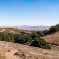 Some trails offer incredible views of the valley. - Los Flores Ranch Park