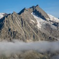 Olmenhorn, seen from the summit of Eggishorn.- Fiescheralp to Eggishorn Hike