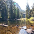 The crystal clear waters of the Tuolumne River.- Glen Aulin High Sierra Camp to Waterwheel Falls