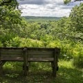 Overlook along the hiking trail.- Fort Ridgely State Park
