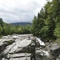 View from the bridge at Rocky Gorge Scenic Area.- Rocky Gorge Scenic Area