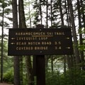 Hiking trails near Rocky Gorge Scenic Area.- Rocky Gorge Scenic Area