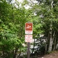 No swimming in Rocky Gorge.- Rocky Gorge Scenic Area