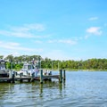 Docks available for boats- Point Lookout State Park Campground