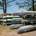Canoes are available to rent.- Point Lookout State Park Campground