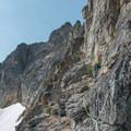 Many route options exist along the northeast ridge.- Black Peak: Northeast Ridge
