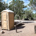 Campground B has several outhouses placed throughout its loop roads.- Beaver Dam State Park Campgrounds A + B