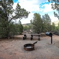 Site 10 in Campground A.- Beaver Dam State Park Campgrounds A + B