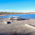 Ideal sites come with lake views.- Silver Springs Beach #7 Campground