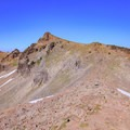 The trail to Hawkeye Point.- Goat Rocks Thru-hike