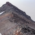 Spot the hikers making their way up Old Snowy Mountain.- Goat Rocks Thru-hike
