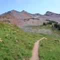The PCT below Ives Peak.- Goat Rocks Thru-hike