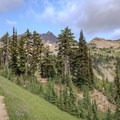Entering the Cispus Basin from the north along the PCT.- Goat Rocks Thru-hike
