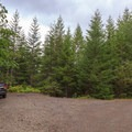 Limited parking at the trailhead.- Pechuck Lookout